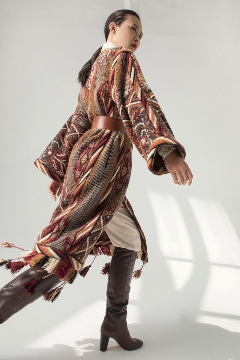 Exclusive to Mytheresa ETRO Wool-Blend Jacquard Coat