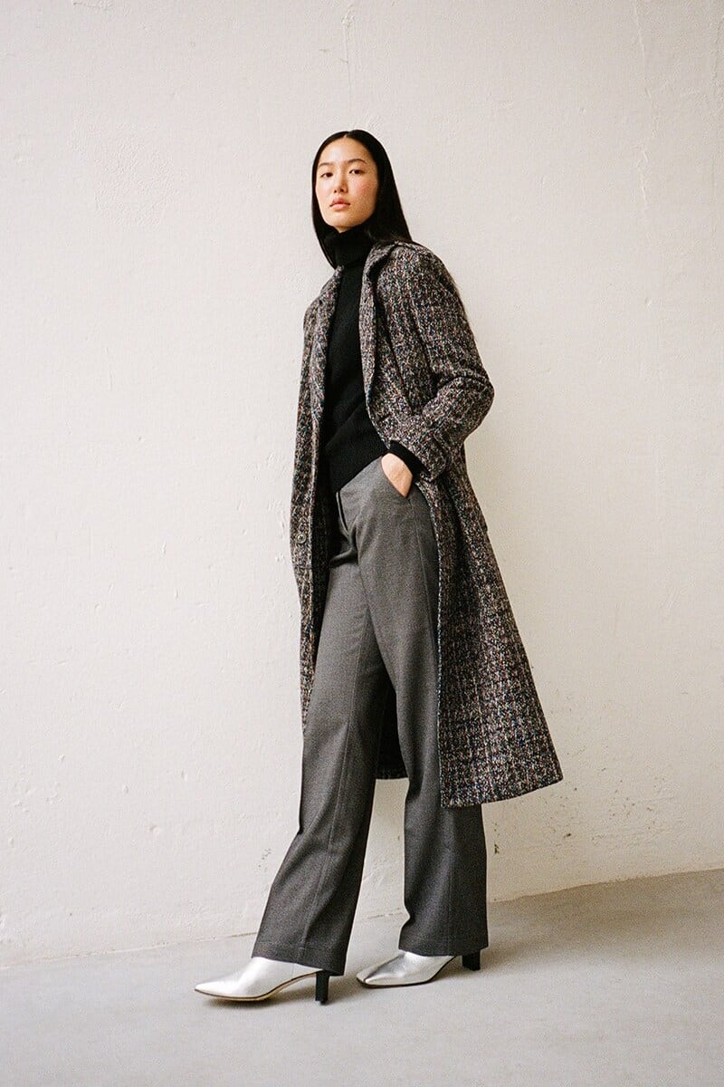 Hebe Studio Lover Twill Straight Pants