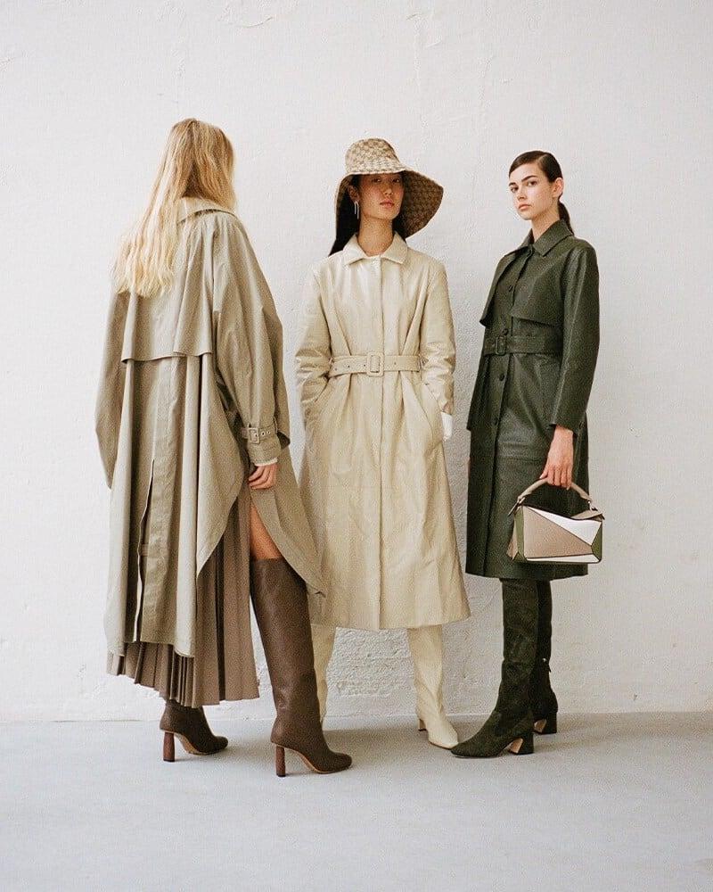 Jil Sander Quilted Leather Belted Coat