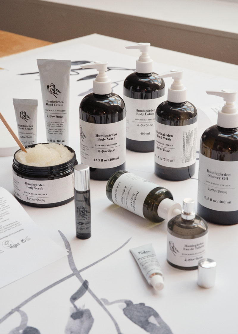 & Other Stories Humlegården Body Care Collection