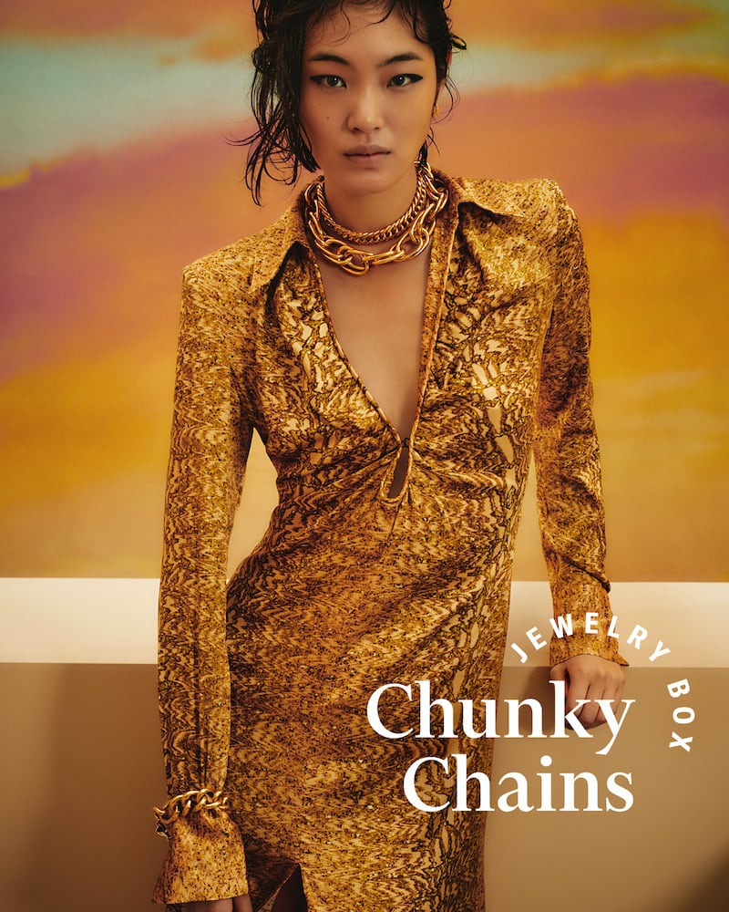 SHOPBOP Fall 2020 Trend Edit Chunky Chains