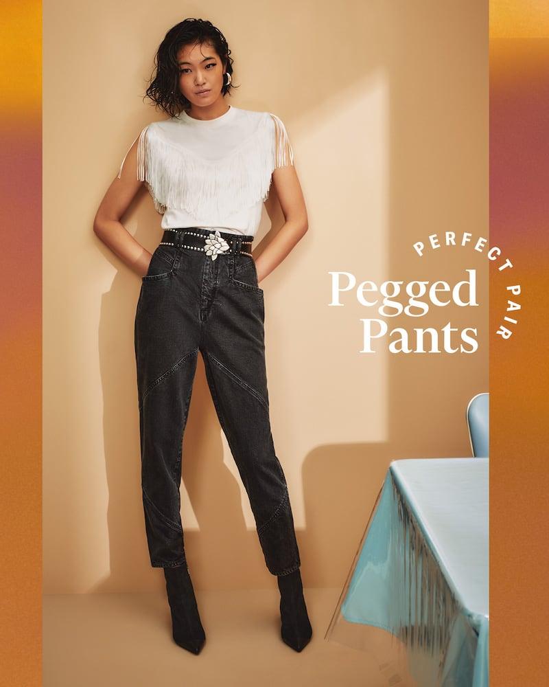 SHOPBOP Fall 2020 Trend Edit Pegged Pants