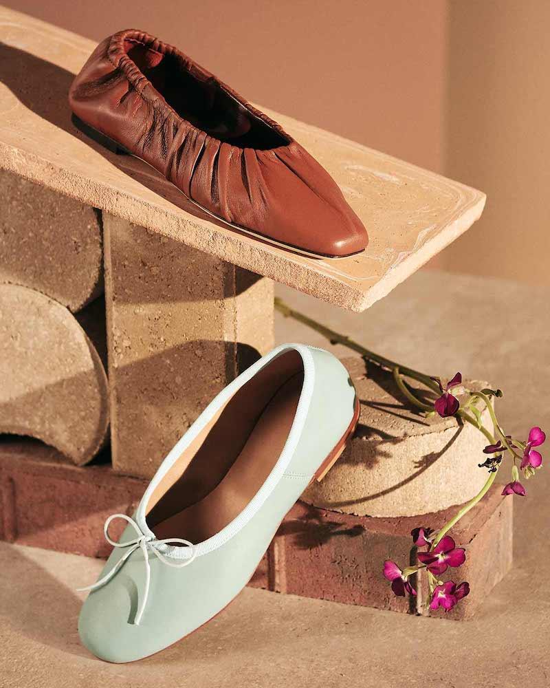 STAUD Tuli Ballet Flats
