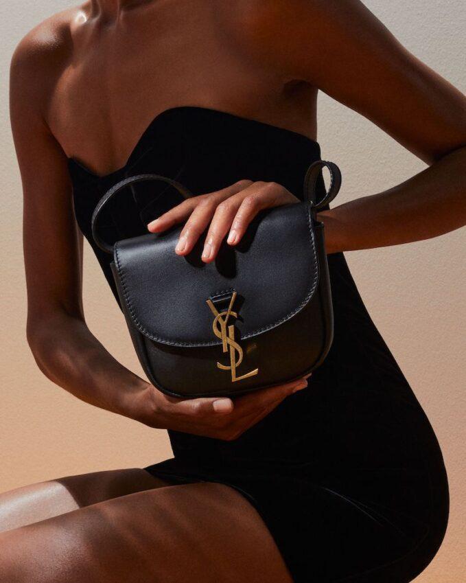 Saint Laurent Kaia Medium Leather Shoulder Bag 1