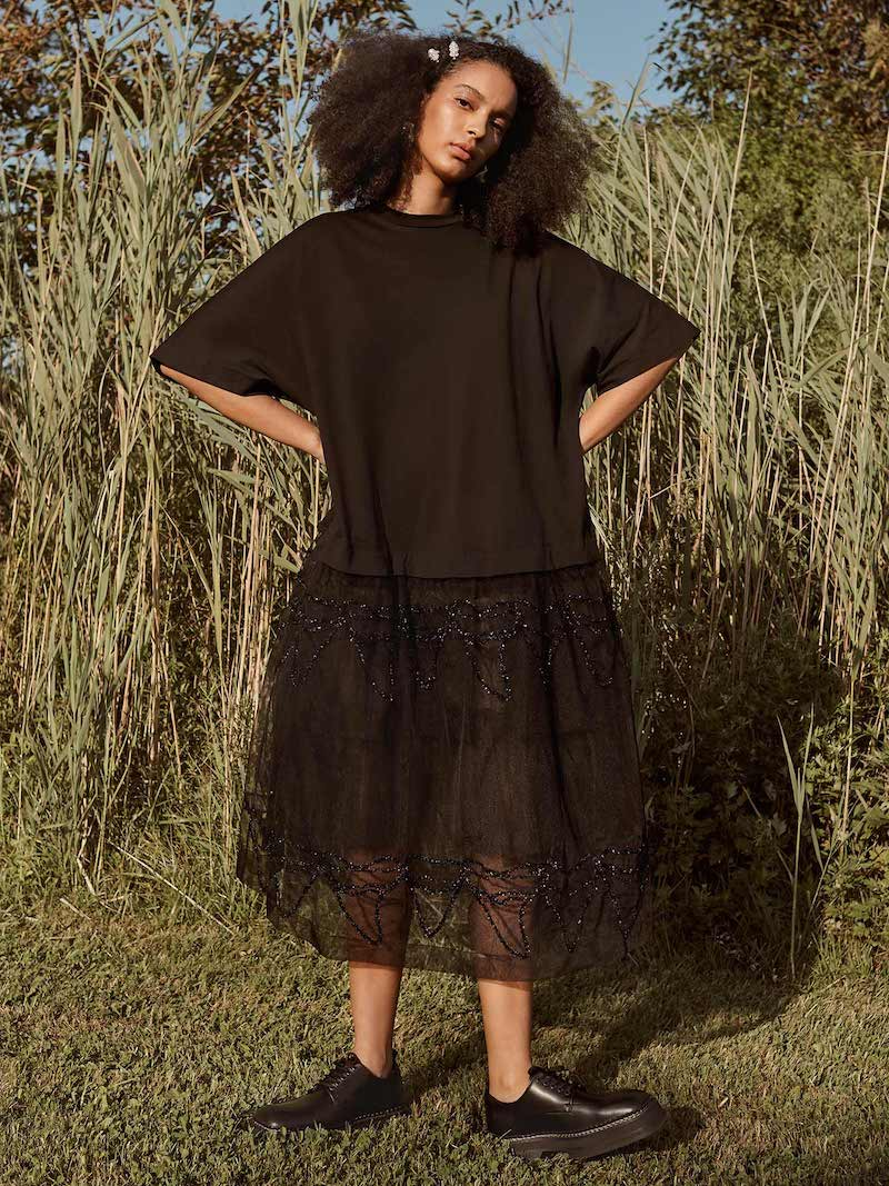 Simone Rocha Tutu T-Shirt Dress