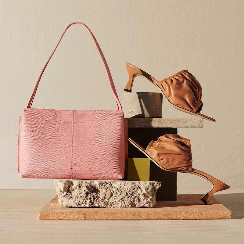 Wandler Carly Mini Lizard Bag