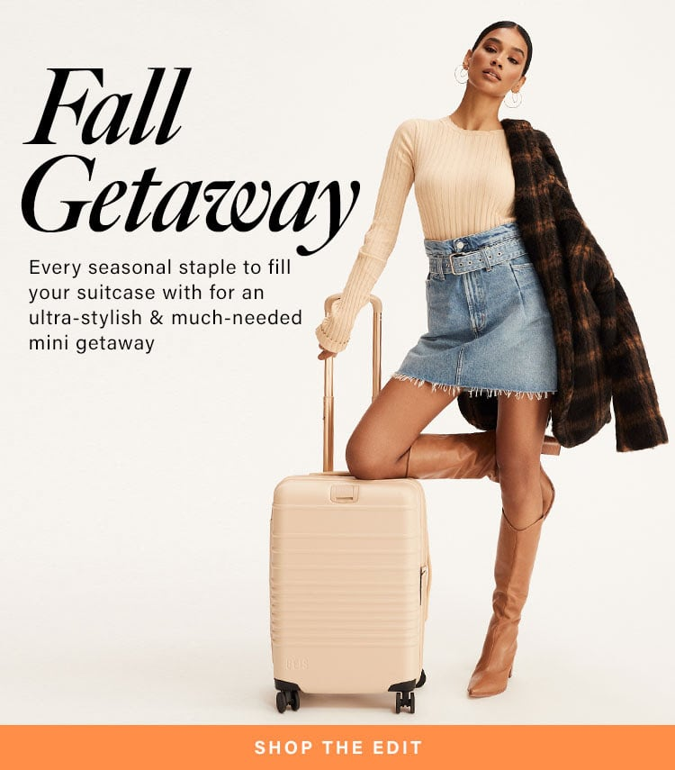 What to Pack // Must-Pack Pieces for Fall Getaway 2020