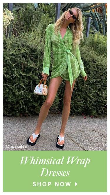 Whimsical Wrap Dresses. Shop Now