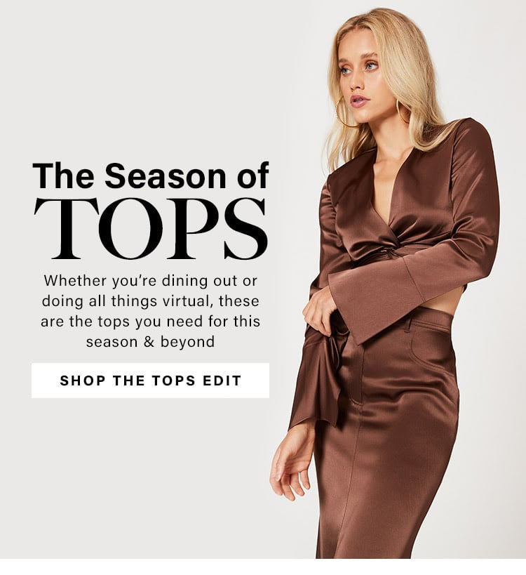 The Season of Tops: Stay on Trend With the Hottest Tops to Own Now