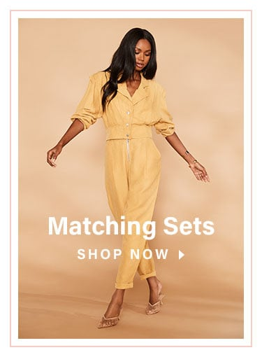Coming in Hot: See what other looks we're coveting this season - Shop Matching Sets