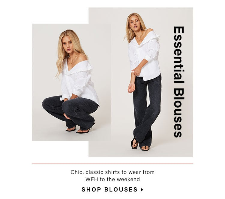 Essential Blouses: Chic, classic shirts to wear from WFH to the weekend - Shop Blouses