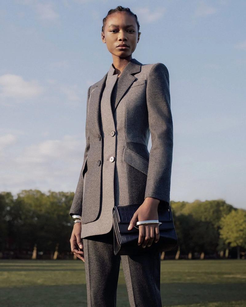 Alexander McQueen Asymmetric Felted-Wool Double-Breasted Jacket