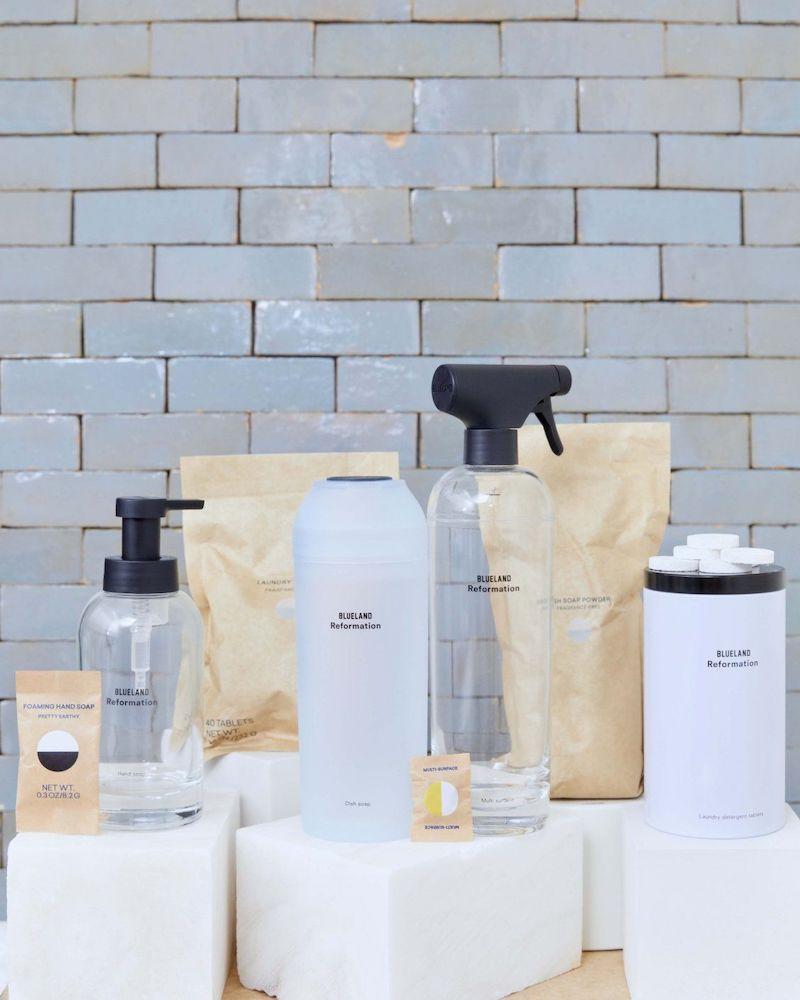 Blueland X Reformation Routine Clean Kit