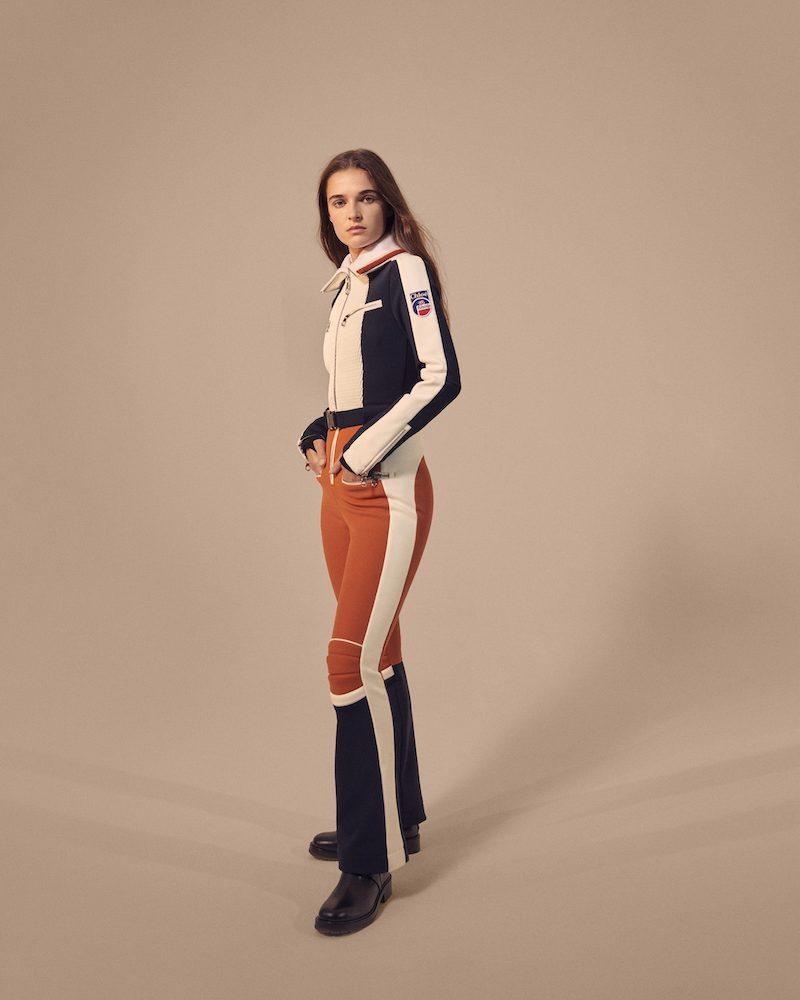 Chloé x Fusalp Belted Ribbed Knit-Trimmed Paneled Ski Suit