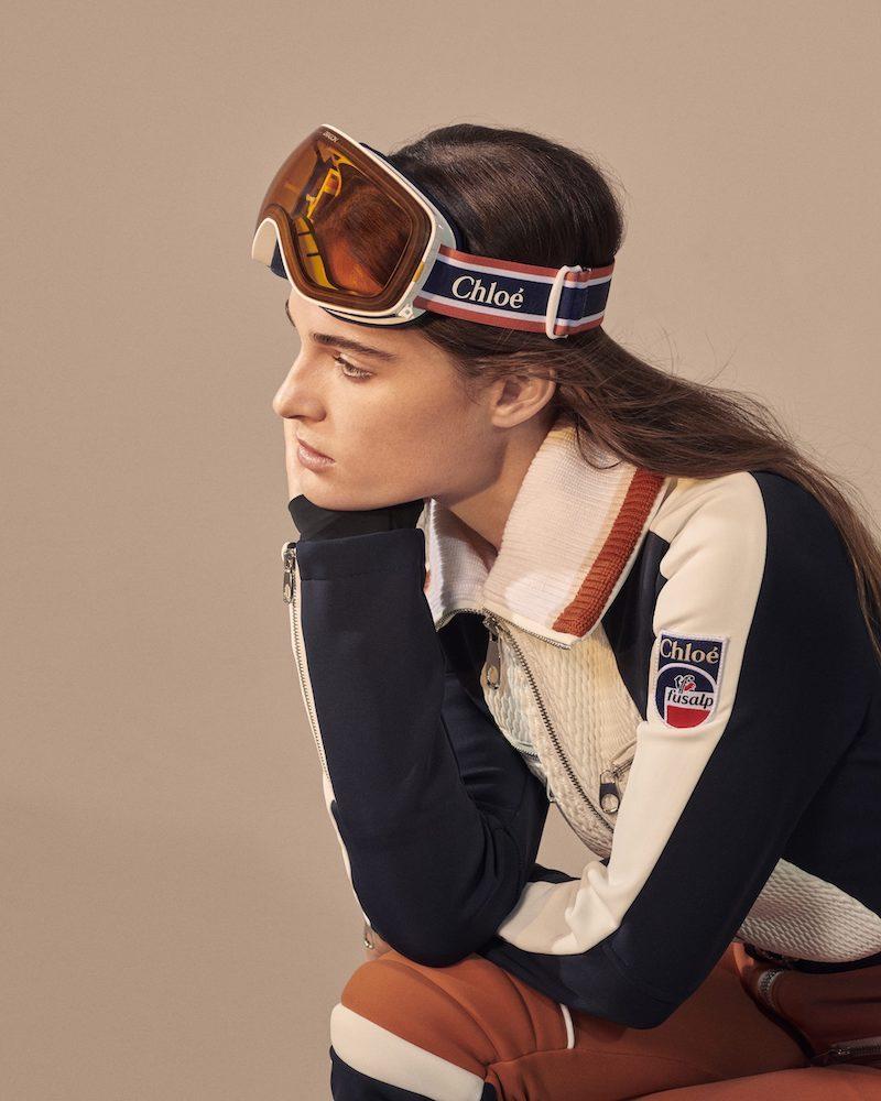 Chloé x Fusalp Cassidy Ski Goggles