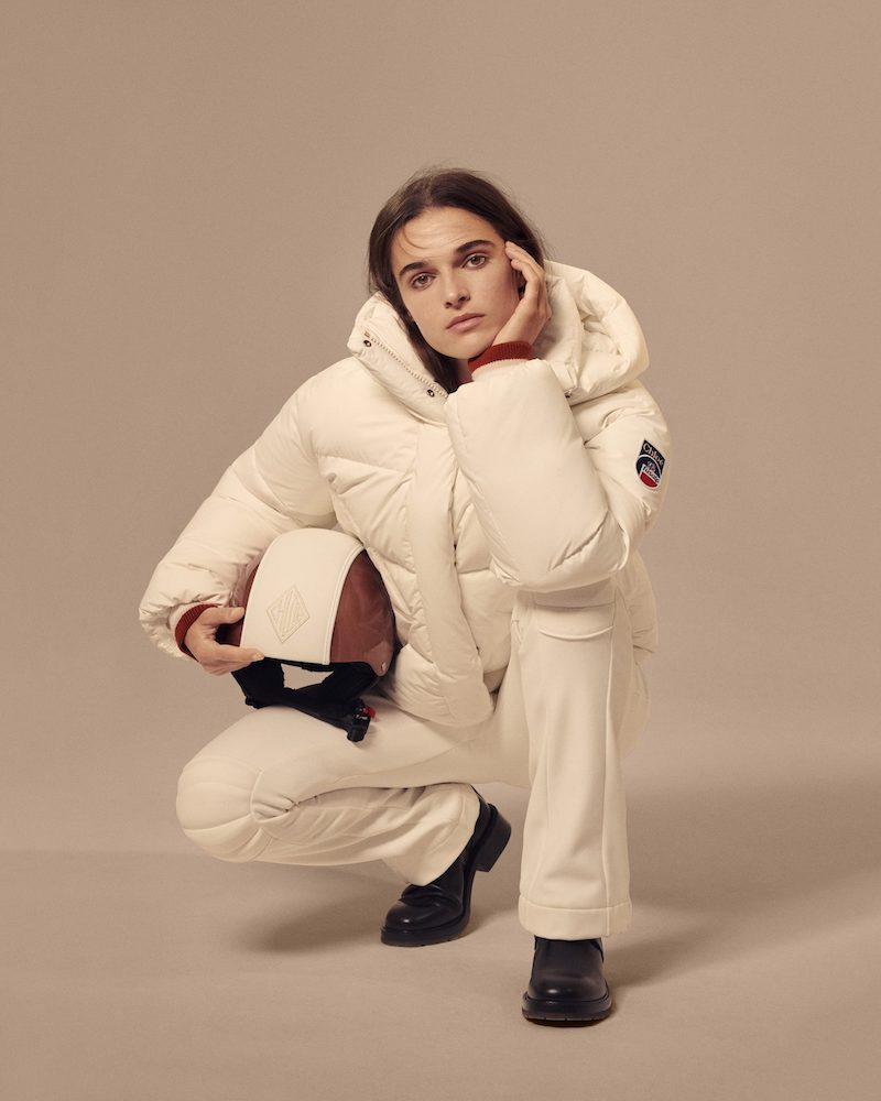 Chloé x Fusalp Hooded Embroidered Quilted Down Ski Jacket