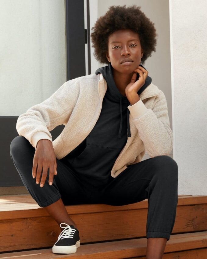 Everlane Lightweight French Terry Hoodie