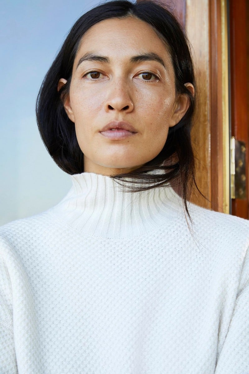Everlane Oversized Stroopwafel Turtleneck in ReCashmere