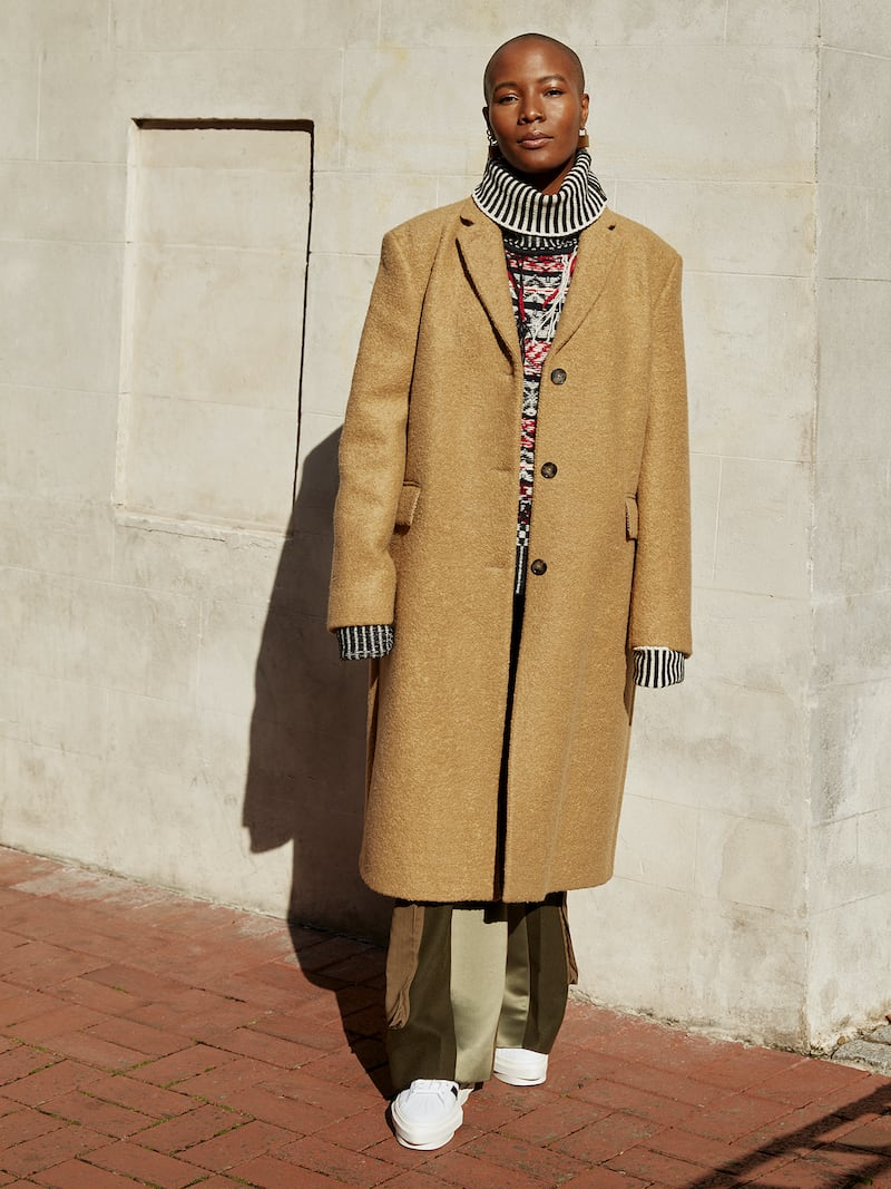 Officine Générale Amber Wool-Blend Coat