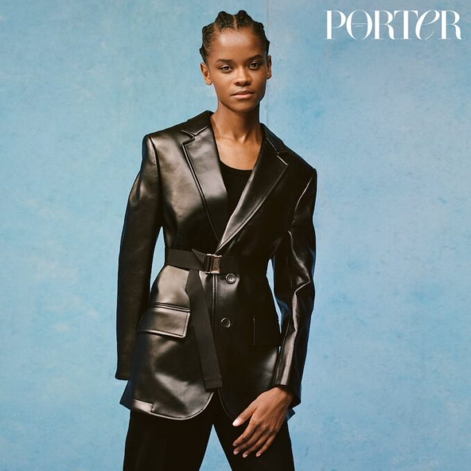 On a Mission: Letitia Wright for The EDIT