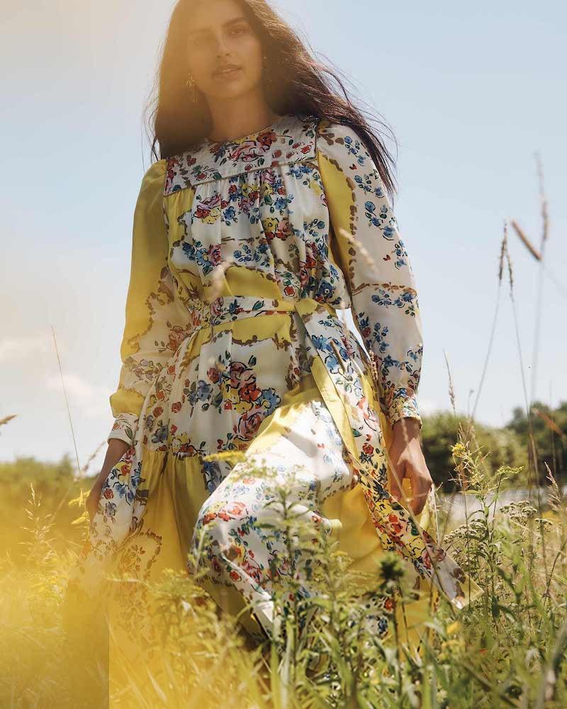 Tory Burch Printed Tea Dress