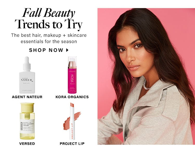 Fall Beauty Trends to Try. The best hair, makeup + skincare essentials for the season. Shop now.