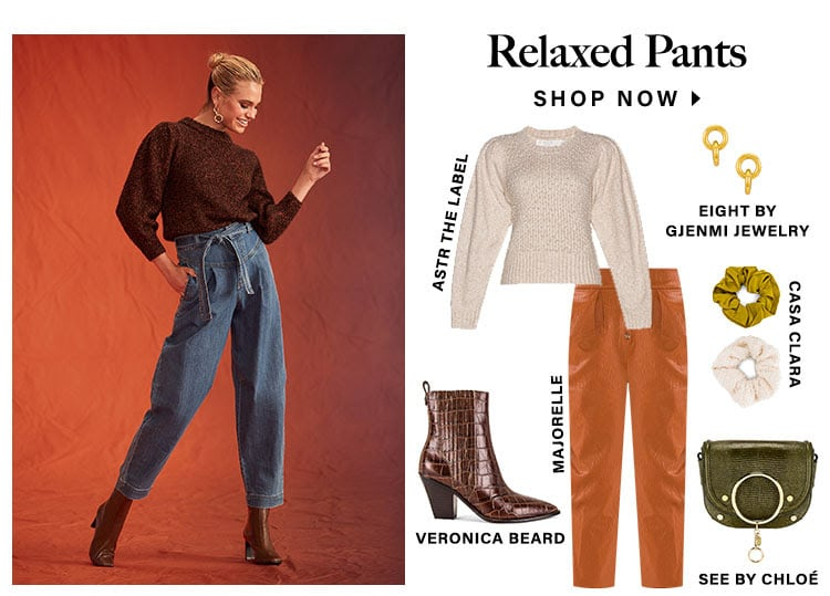 Relaxed Pants. Shop now.