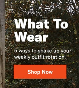 5 ways to shake up your weekly outfit rotation.