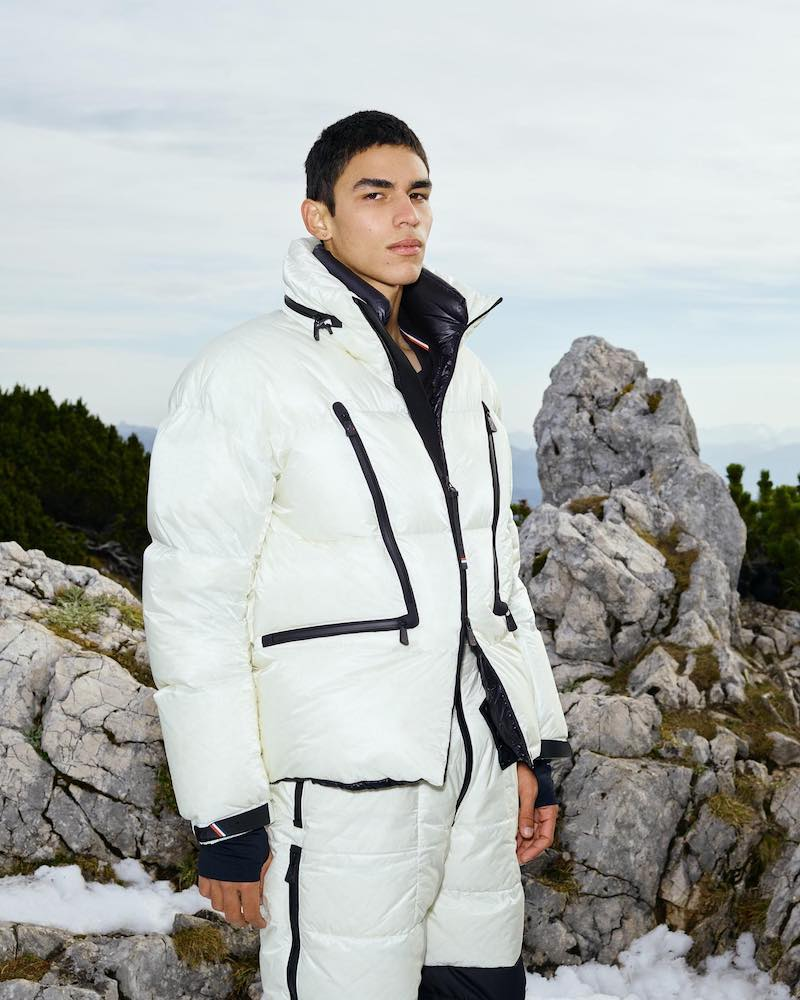 3 MONCLER GRENOBLE by Moncler Genius Croz Photo-Luminescent Jacket