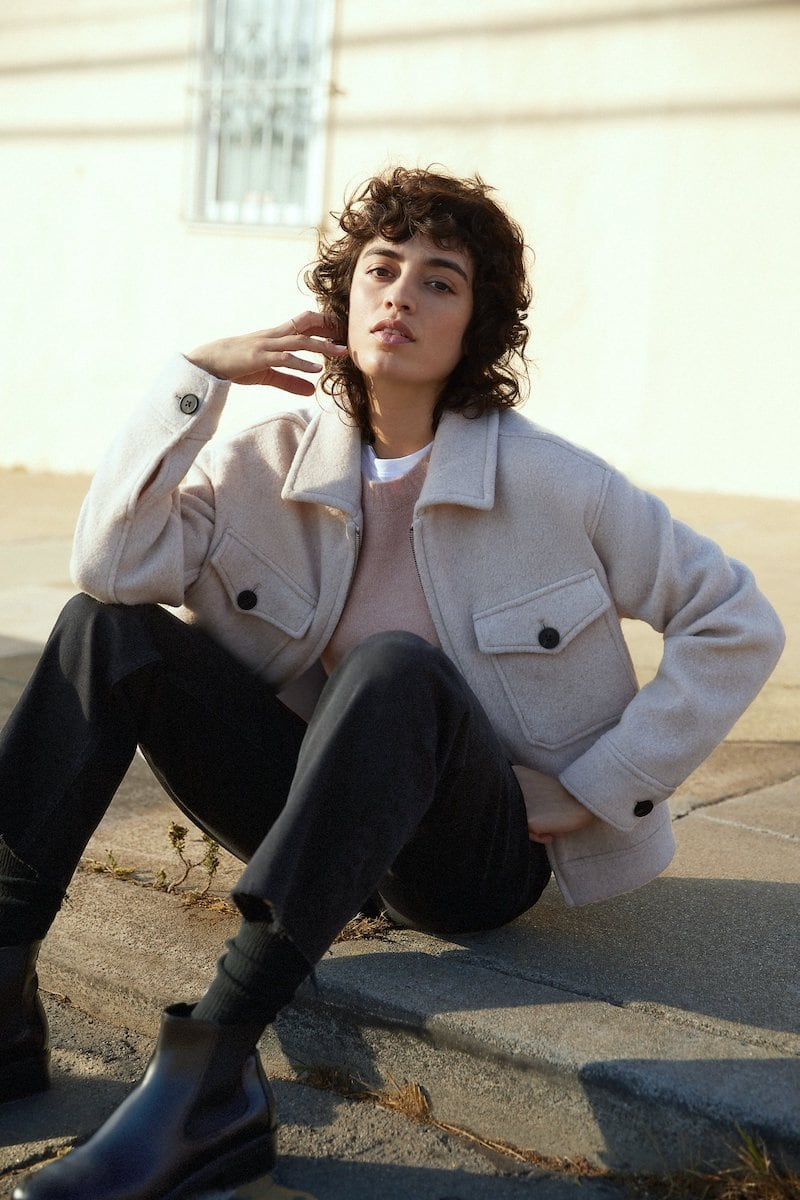 Everlane Wool Mackinaw Jacket