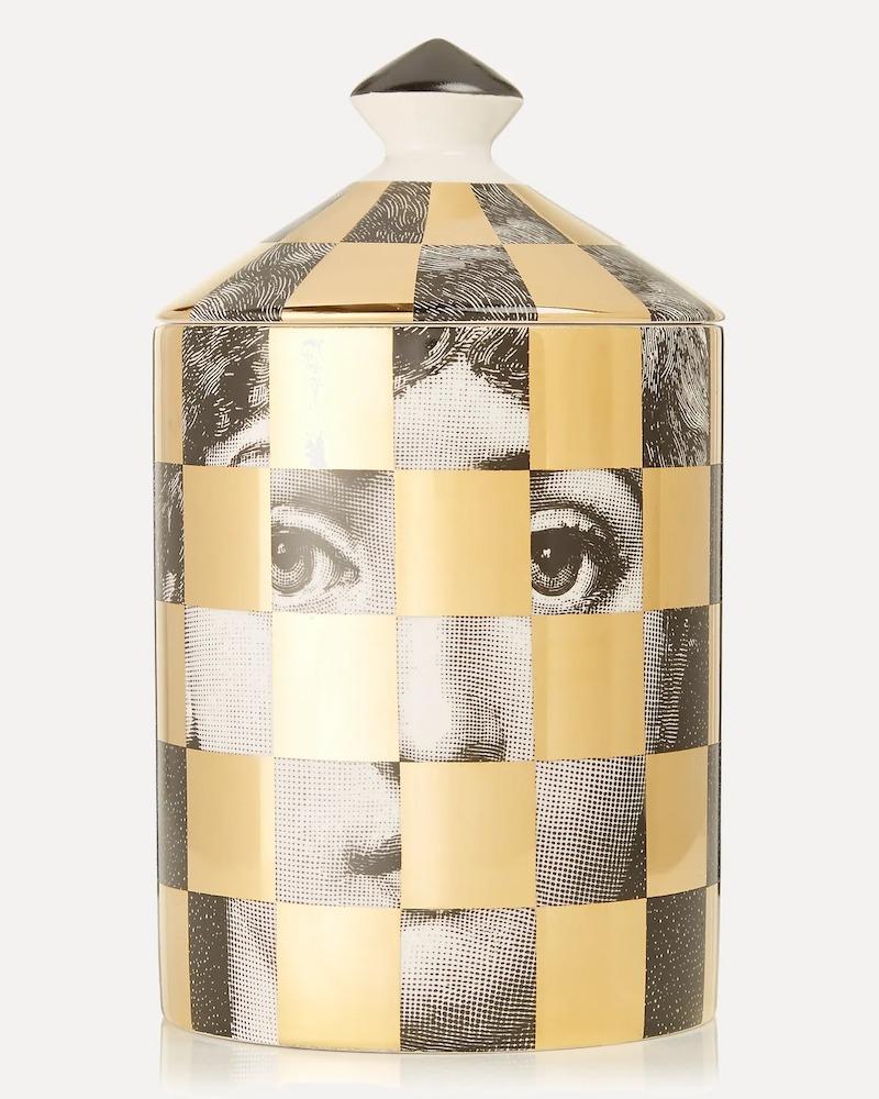 Fornasetti Gold Scacco Otto Scented Candle