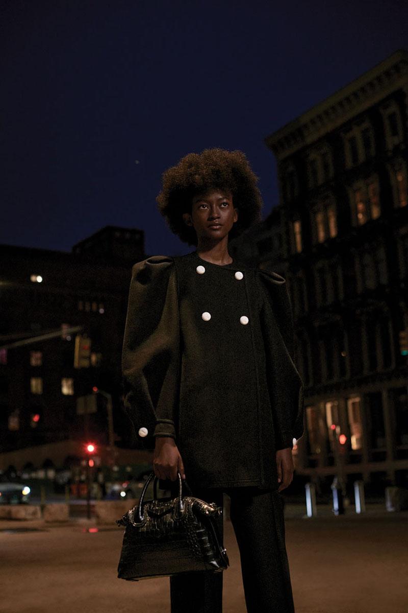 Givenchy Croc-Embossed Antigona Soft Medium Bag