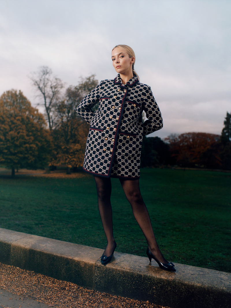 Gucci Cotton-Blend Bouclé-Tweed Coat
