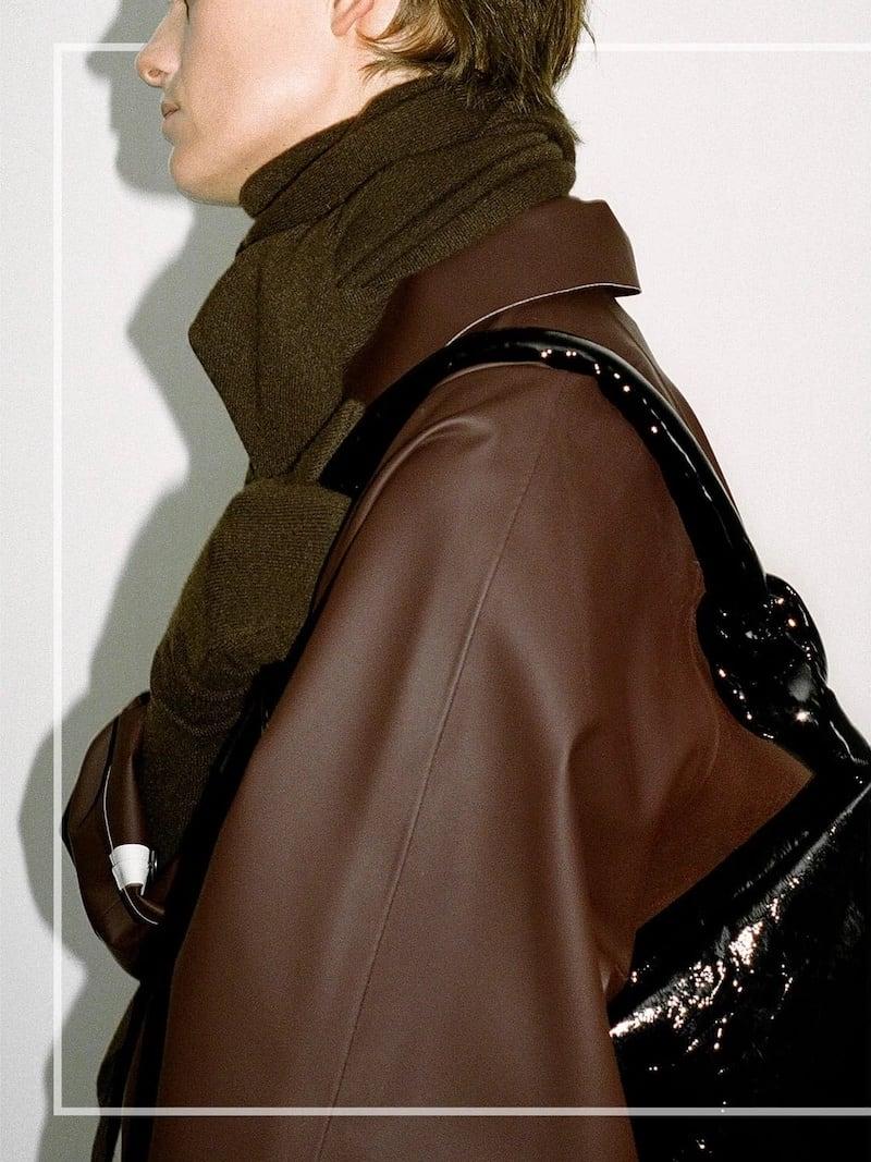 KASSL Editions Original Below Rubber Waterproof Overcoat