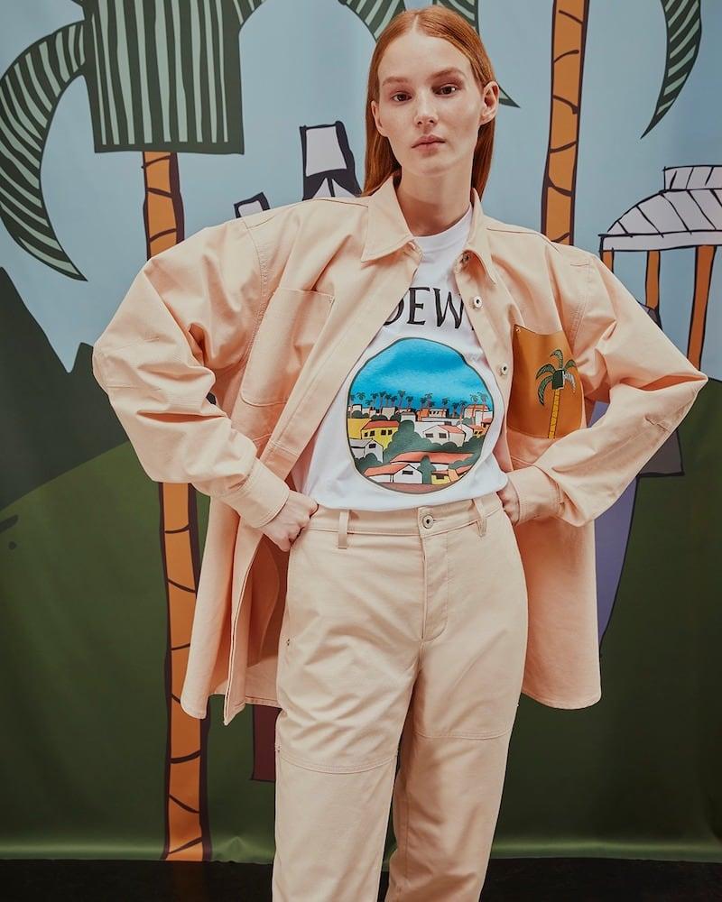 LOEWE x Ken Price Printed Cotton T-Shirt