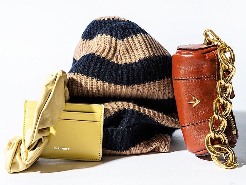 Manu Atelier Micro Cylinder Leather Shoulder Bag