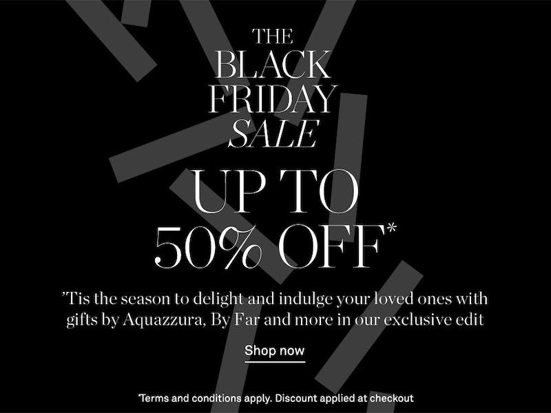 NET-A-PORTER Black Friday Fashion Sales & Deals 2020