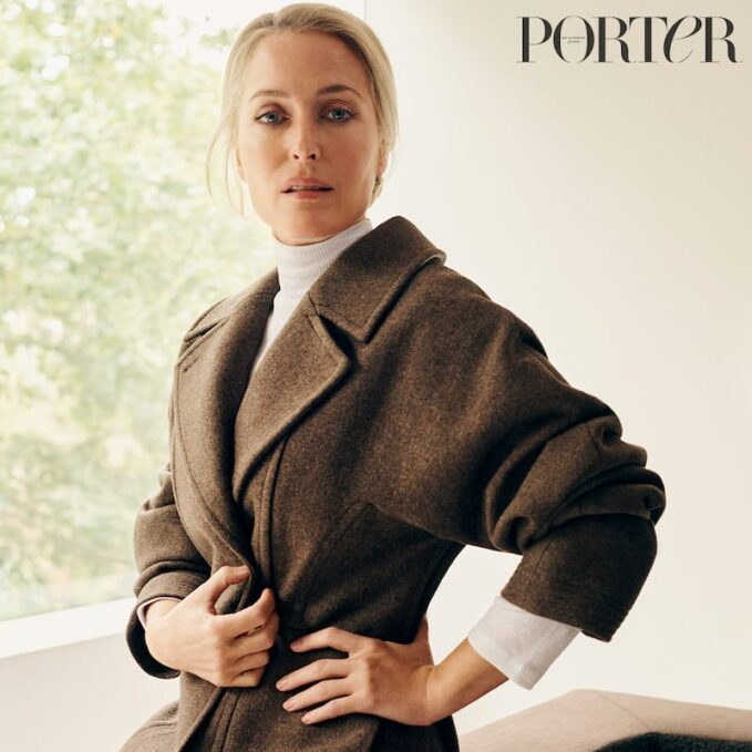 Prime Time: Gillian Anderson for The EDIT