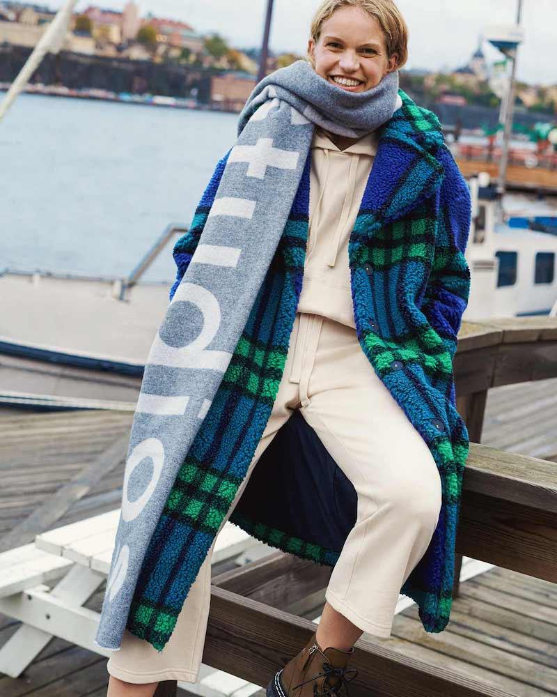Splendid Knit Terry Hoodie