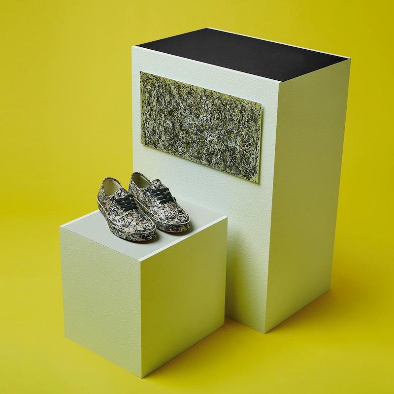 Vans x MoMA Authentic Jackson Pollock Sneakers