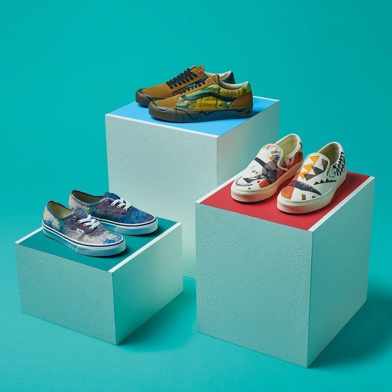 Vans x MoMA Authentic Monet Sneakers