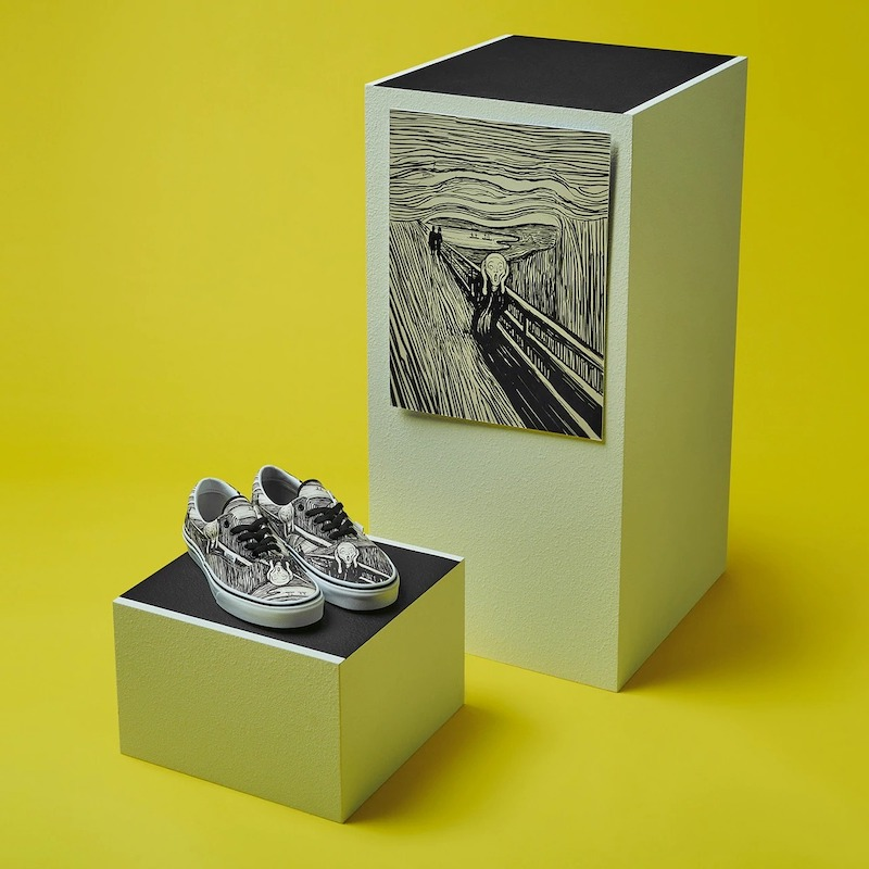 Vans x MoMA Era Edvard Munch Sneakers