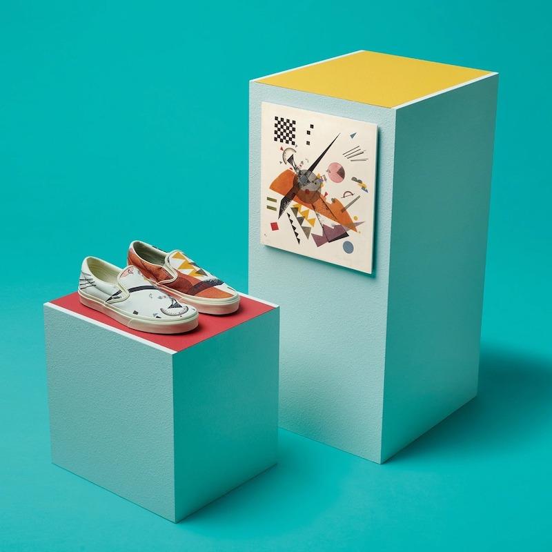 Vans x MoMA Kandinsky Slip-On Sneakers