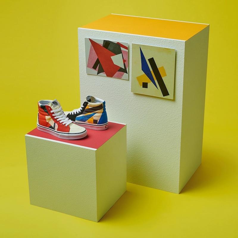 Vans x MoMA Lyubov Popova SK8 High Sneakers