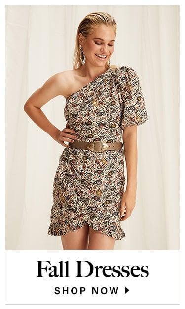 Fall Dresses. Shop now.