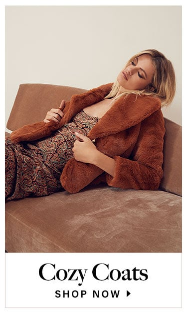 Cozy Coats. Shop now.