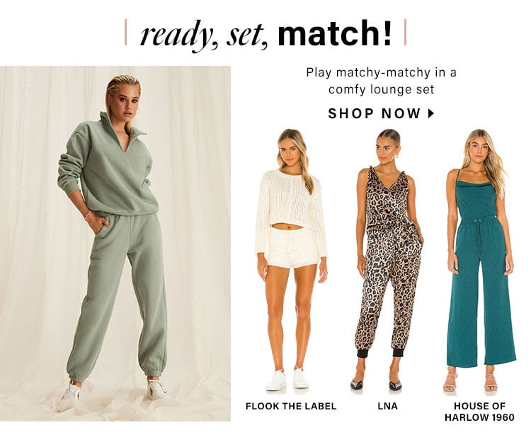 Ready, Set, Match! DEK: Play matchy-matchy in a comfy lounge set - Shop Nows