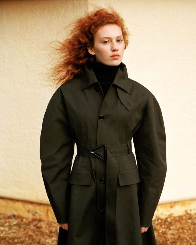 Bottega Veneta Longline-Cuff Wool Sweater