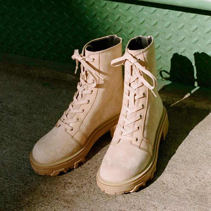 Rag & Bone Shaye Hiker Boots in Stone Beige