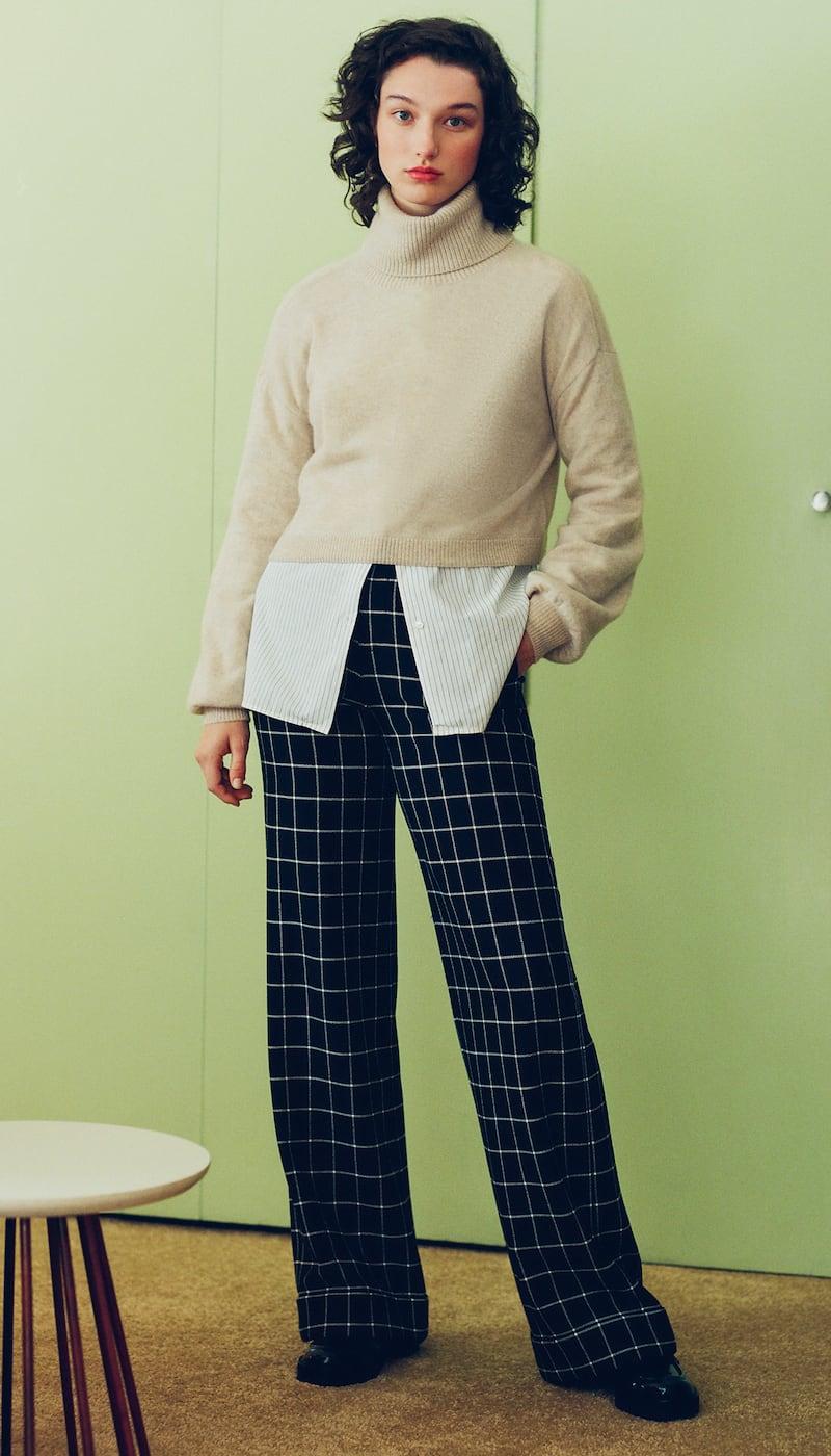 alice + olivia Dylan High Waist Cuff Pants